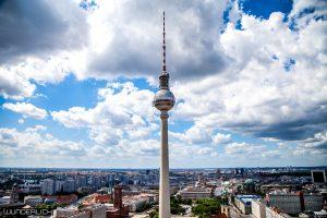 Berliner Fernsehturm vom Fotospot ParkInn