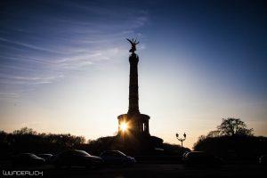 Sonnenuntergang an der Siegessäule