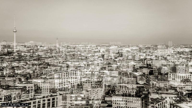 Stadtblick mit Fernsehturm