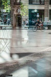 Der Radfahrer am Hausvogteiplatz