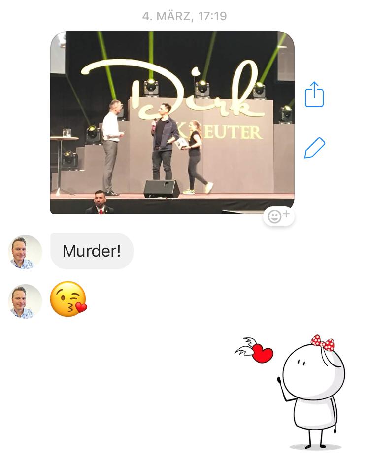 Vertriebsoffensive Berlin auf der Bühne mit Dirk Kreuter