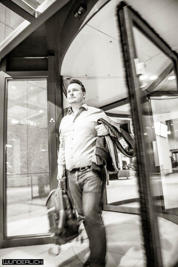 David Brych Portrait Shooting in Berlin