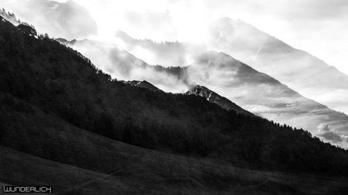 Berge bei der Fane Alm in Südtirol