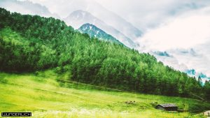 Berge Fane Alm in Südtirol