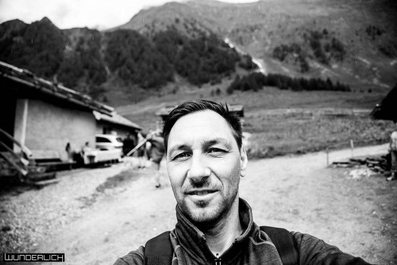 Ich auf der Fane Alm in Südtirol
