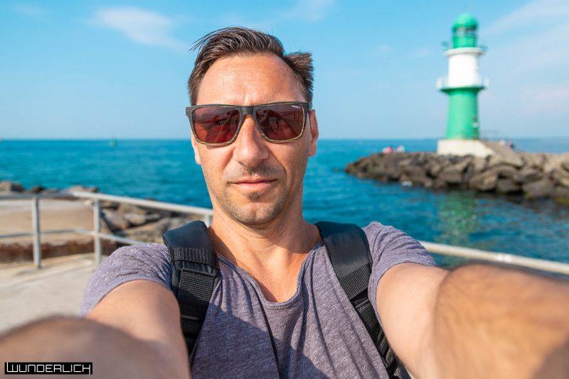 Selfie Time Ronny Wunderlich am Leuchtturm
